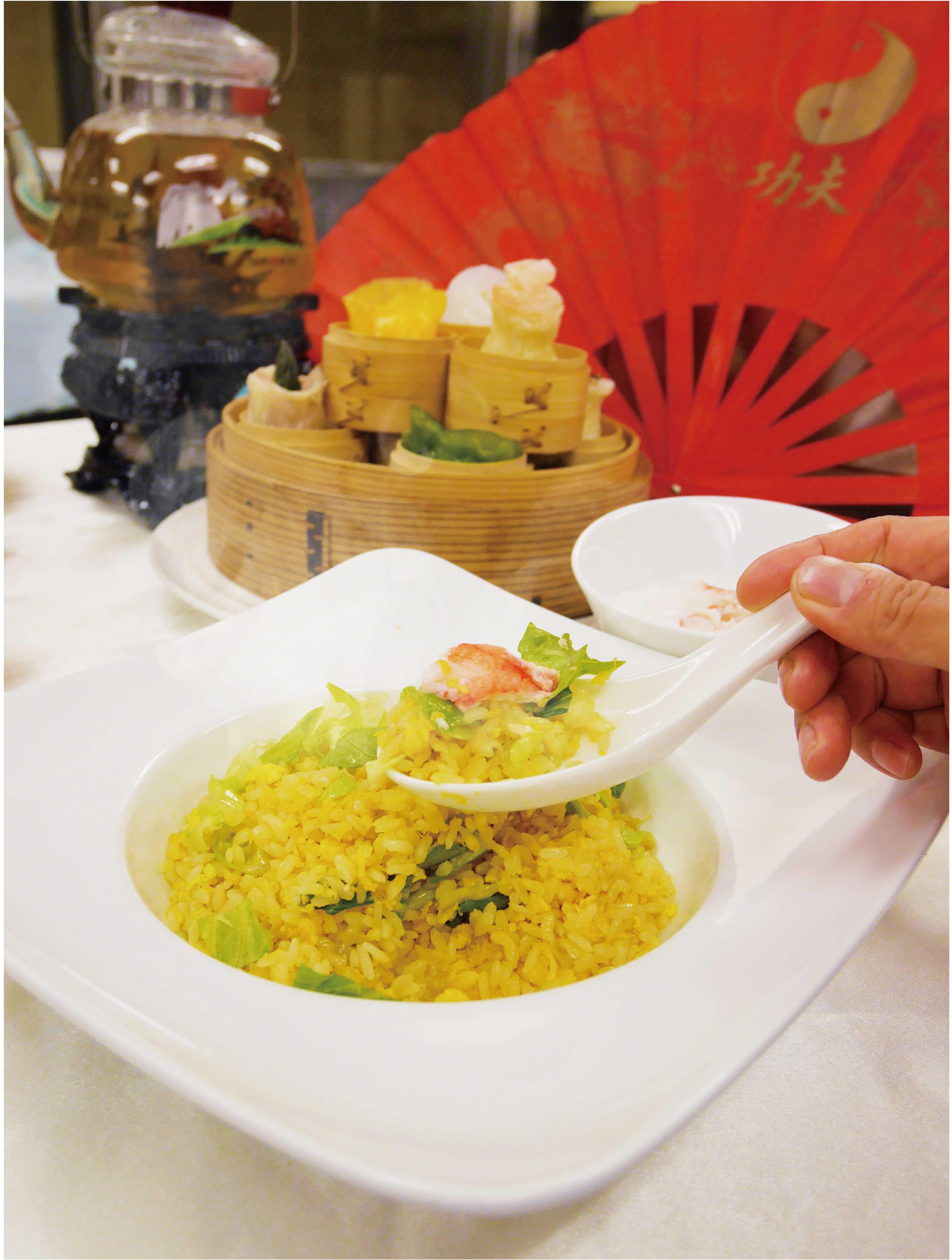 【中国料理】蟹チャーハン&春巻 @ ecole UMEDA