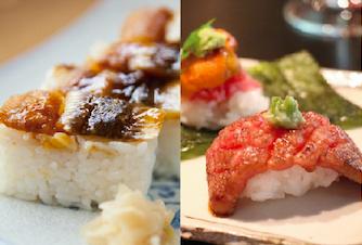 【日本料理】穴子の棒寿司・肉寿司&世界のごちそうビュッフェ! @ 和泉校本校