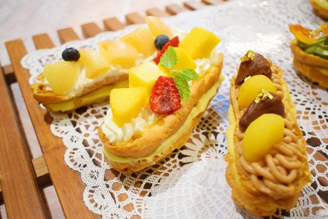 【製菓】バトンエクレール&世界のごちそうビュッフェ! @ ecole UMEDA