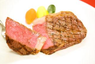 【西洋料理】🥩牛ロース肉のステーキ~ @ ecoleUMEDA校